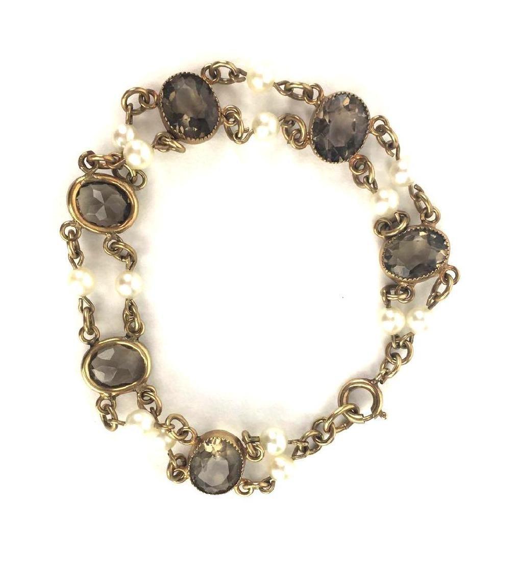 Vintage Gold Filled Link Bracelet - 2