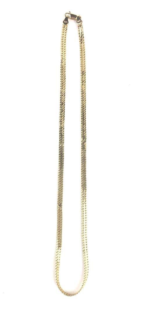 10K Gold Herringbone Chain
