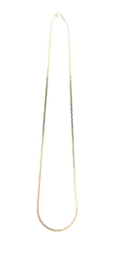 14K Gold Serpentine Chain - 2