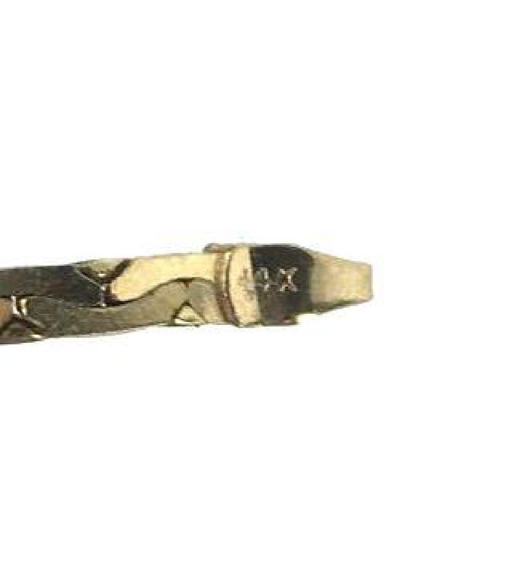 14K Gold Serpentine Chain - 4