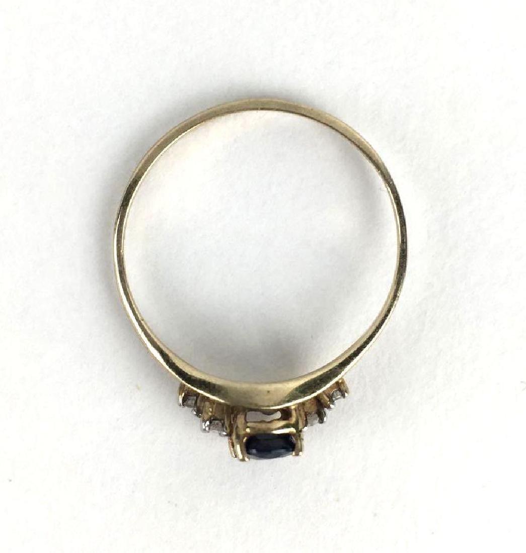 10K Yellow Gold Vintage Ring - 2