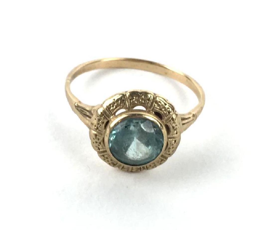10k Gold Art Deco Ring