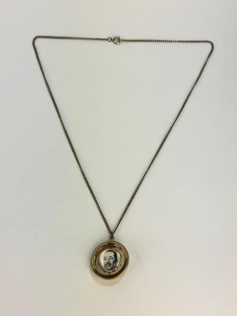 Martin Luther King Orbital Pendant Necklace