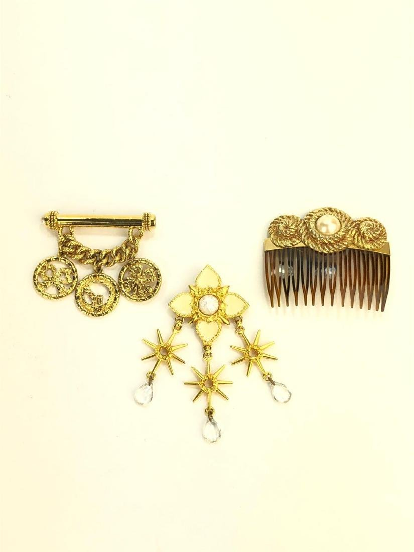 Gold-Tone Designer Costume Jewelry