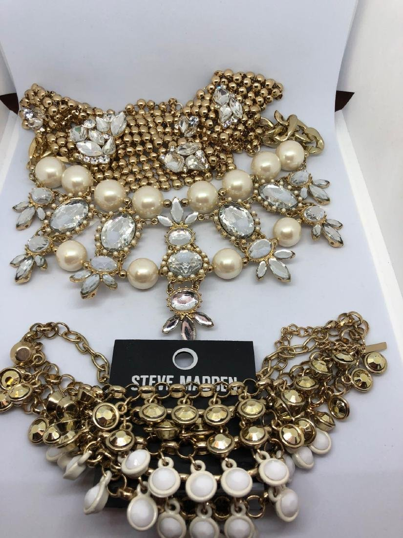 3 Statement Necklaces including Steve Madden