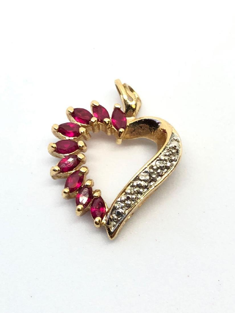 925 Sterling Heart Pendant