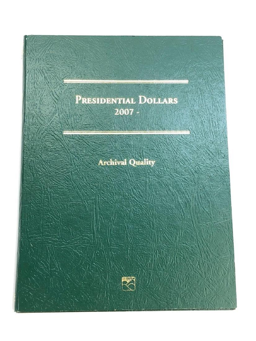 Lot of Twenty Four Presidential Dollars in Booklet
