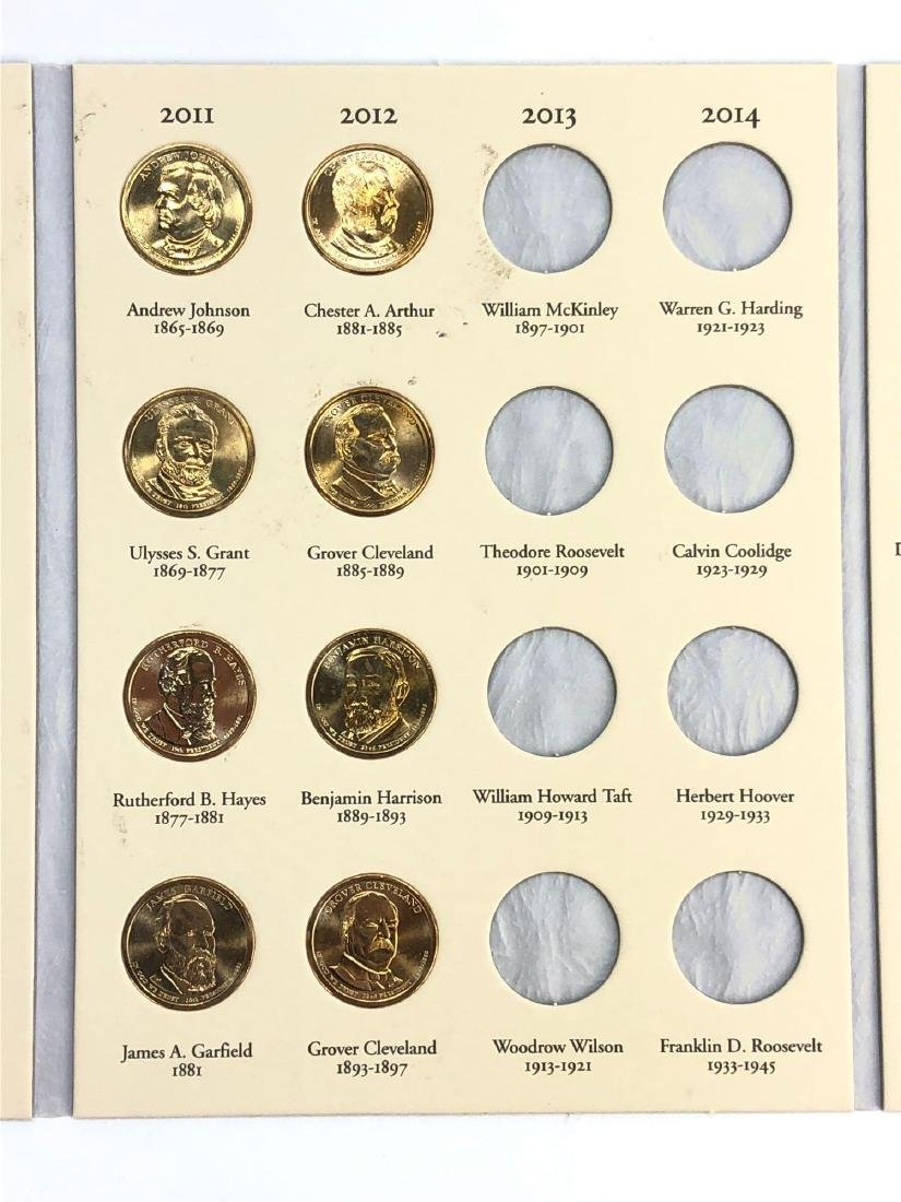Lot of Twenty Four Presidential Dollars in Booklet - 4