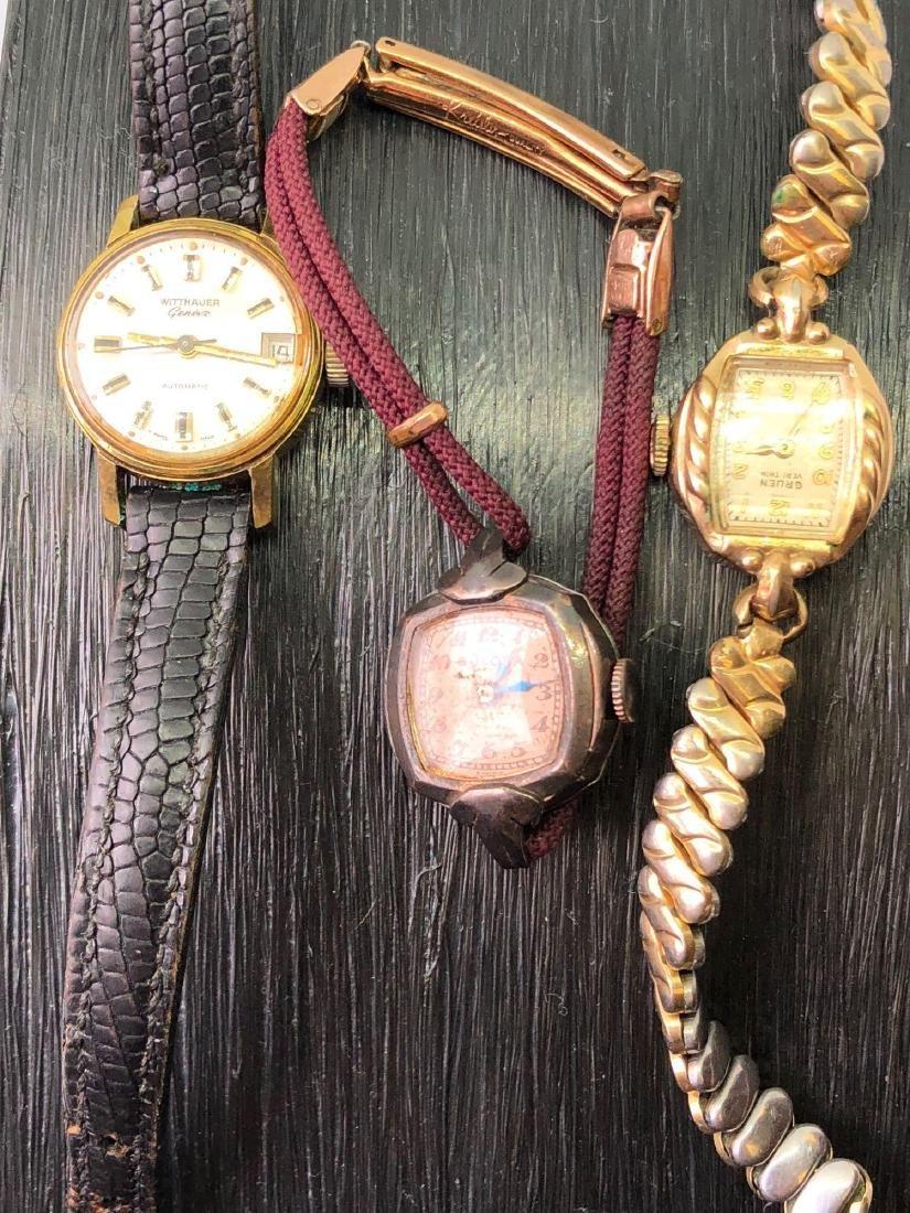 Lot of Three Vintage Ladies Watches