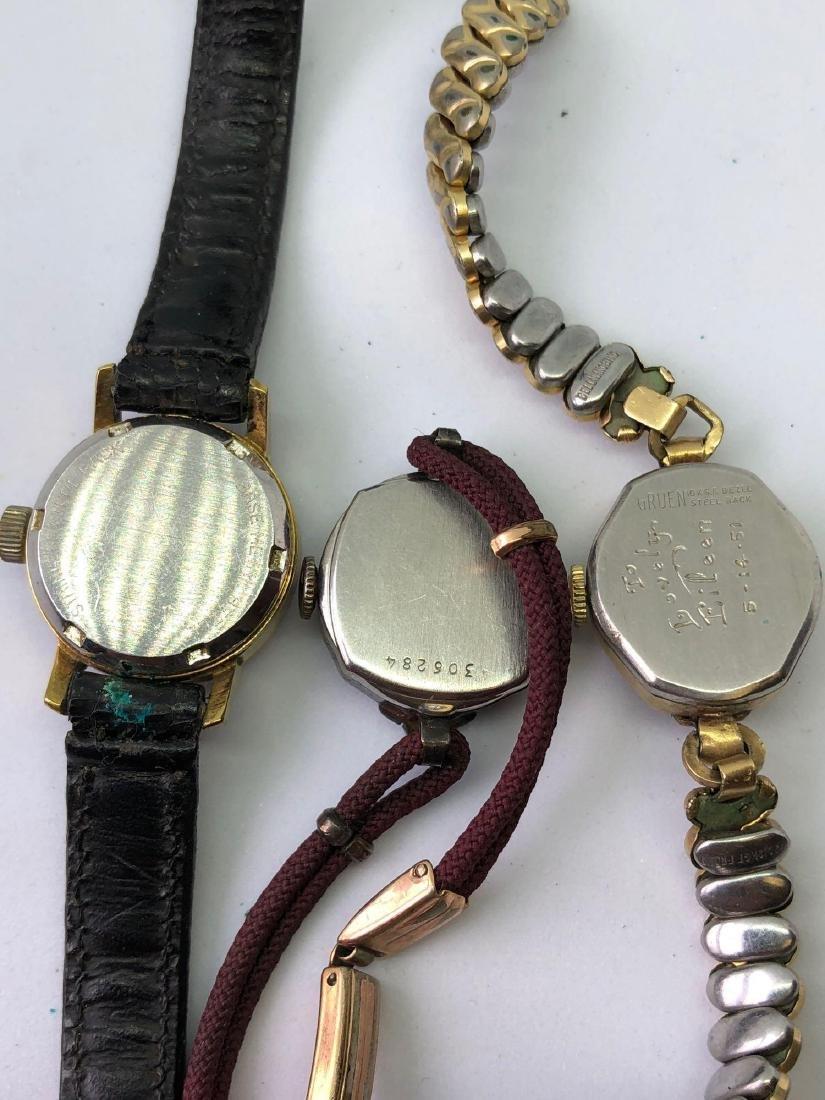 Lot of Three Vintage Ladies Watches - 5