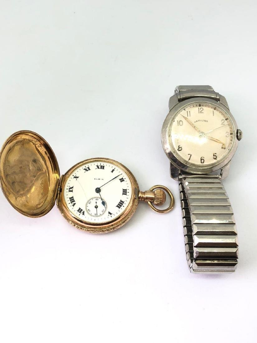 Lot of Two Vintage Mens Timepieces