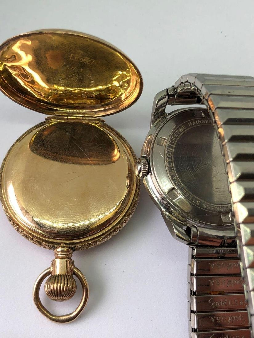 Lot of Two Vintage Mens Timepieces - 4