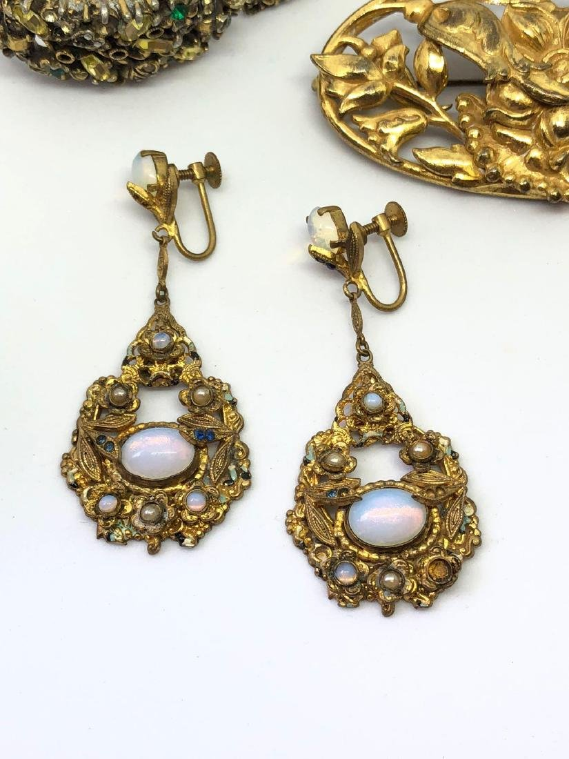 Lot of Vintage Ornate Jewelry - 2