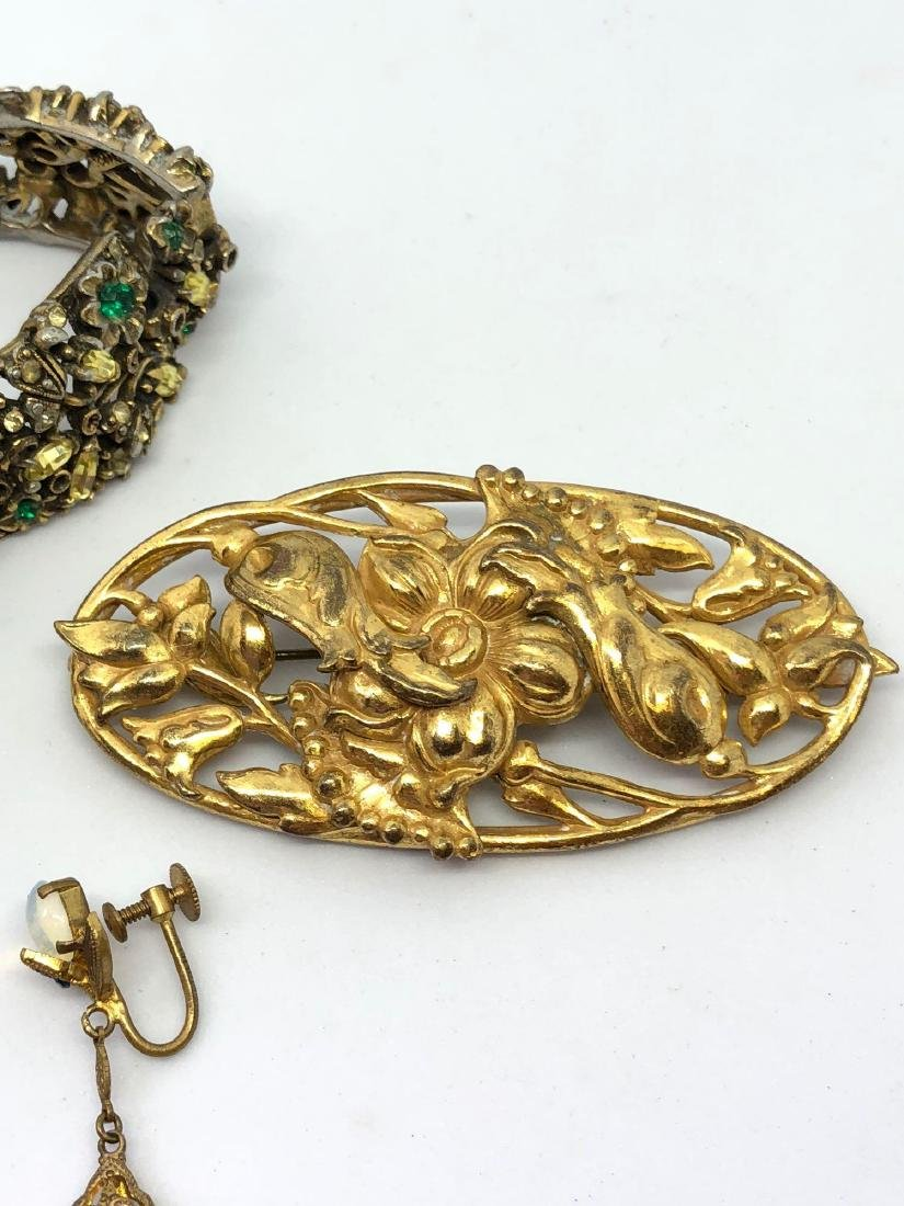 Lot of Vintage Ornate Jewelry - 3