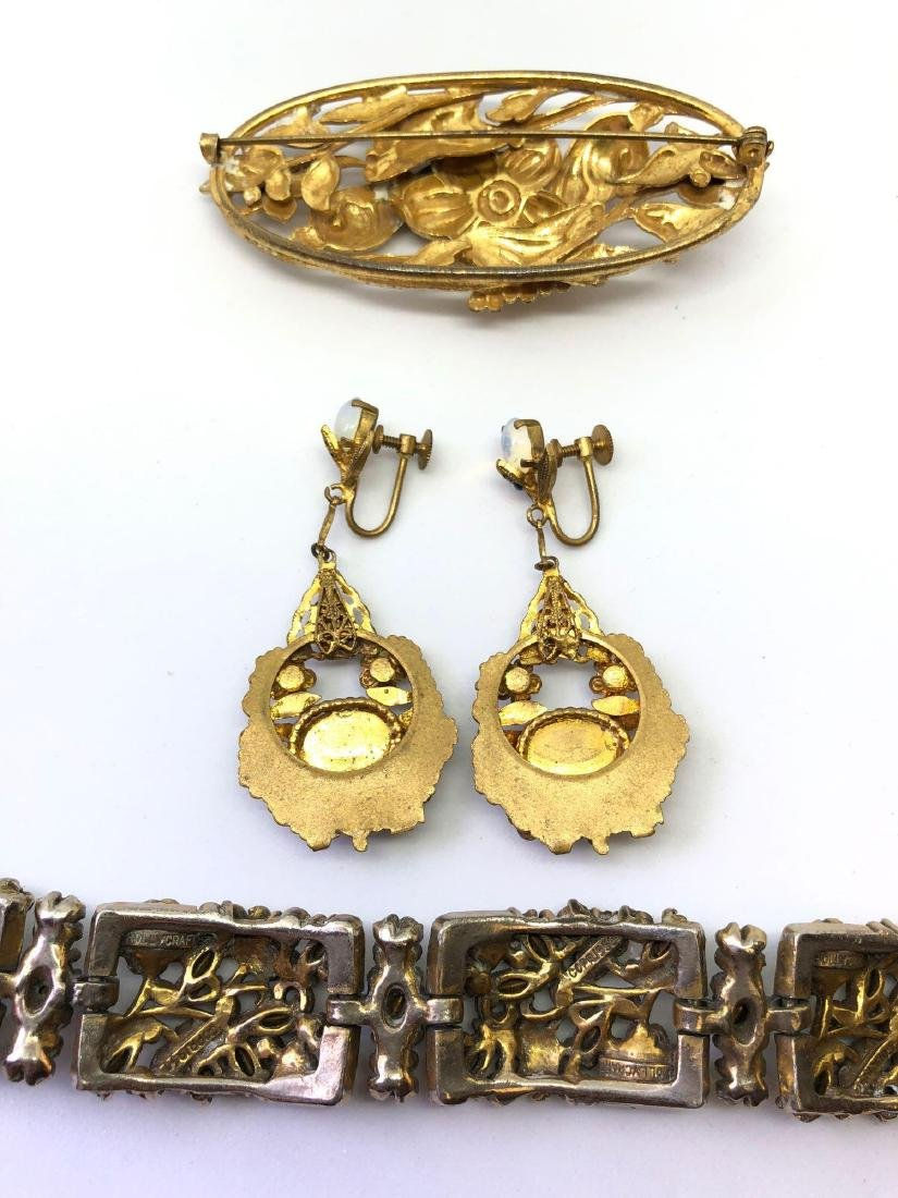 Lot of Vintage Ornate Jewelry - 5