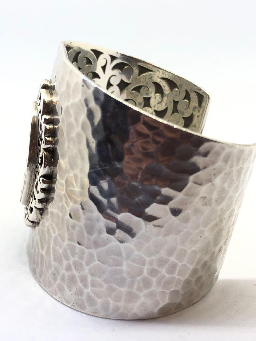 Lot of One Lois Hill Hammered Sterling Silver Cuff - 4