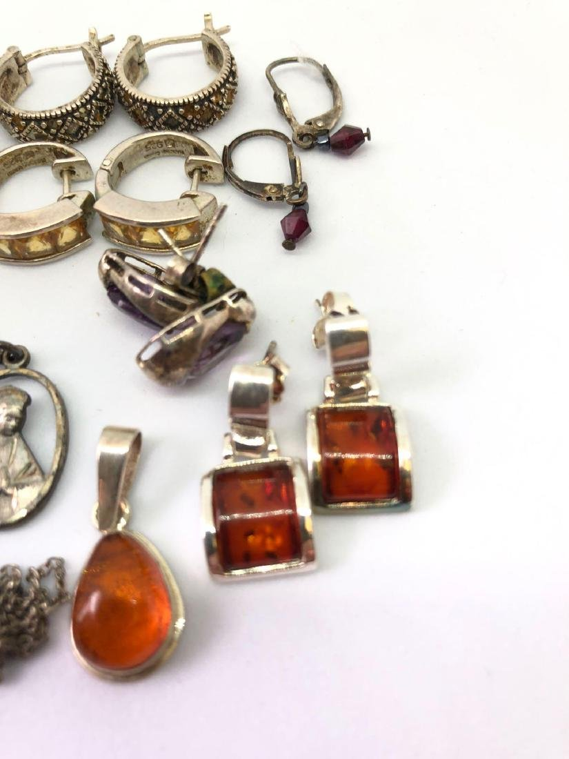 Lot of Sterling Silver Jewelry - 2