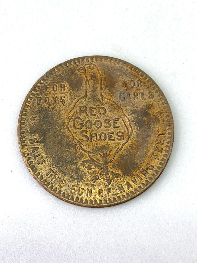 Lot of One Red Goose Shoe Company Discount Token
