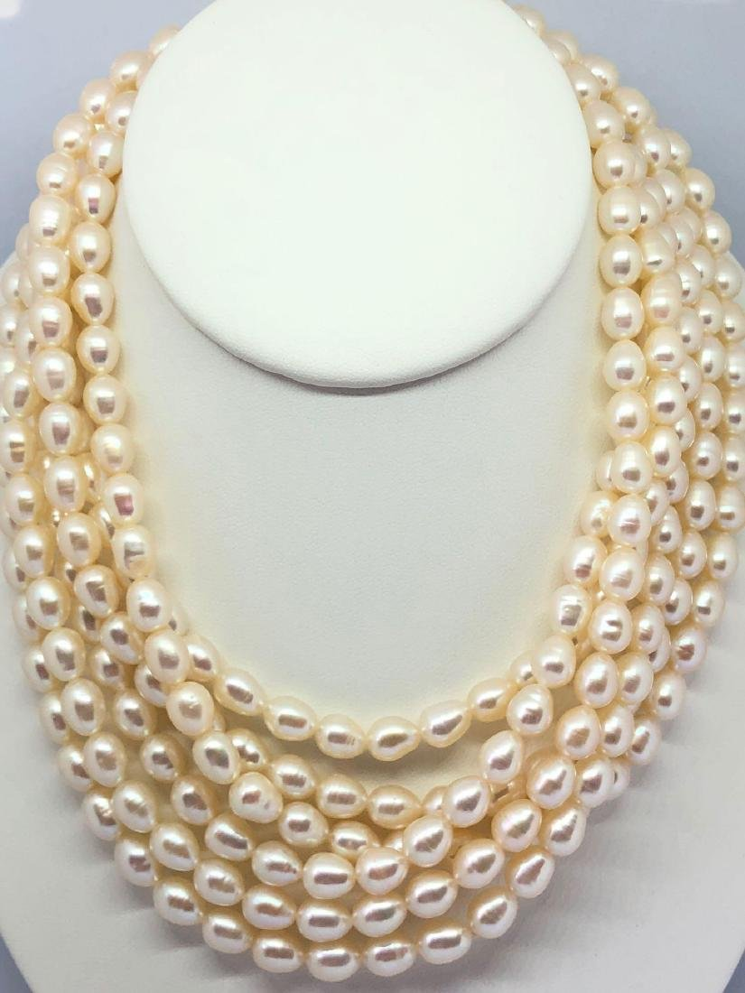 Lot of Three Pearl Necklaces
