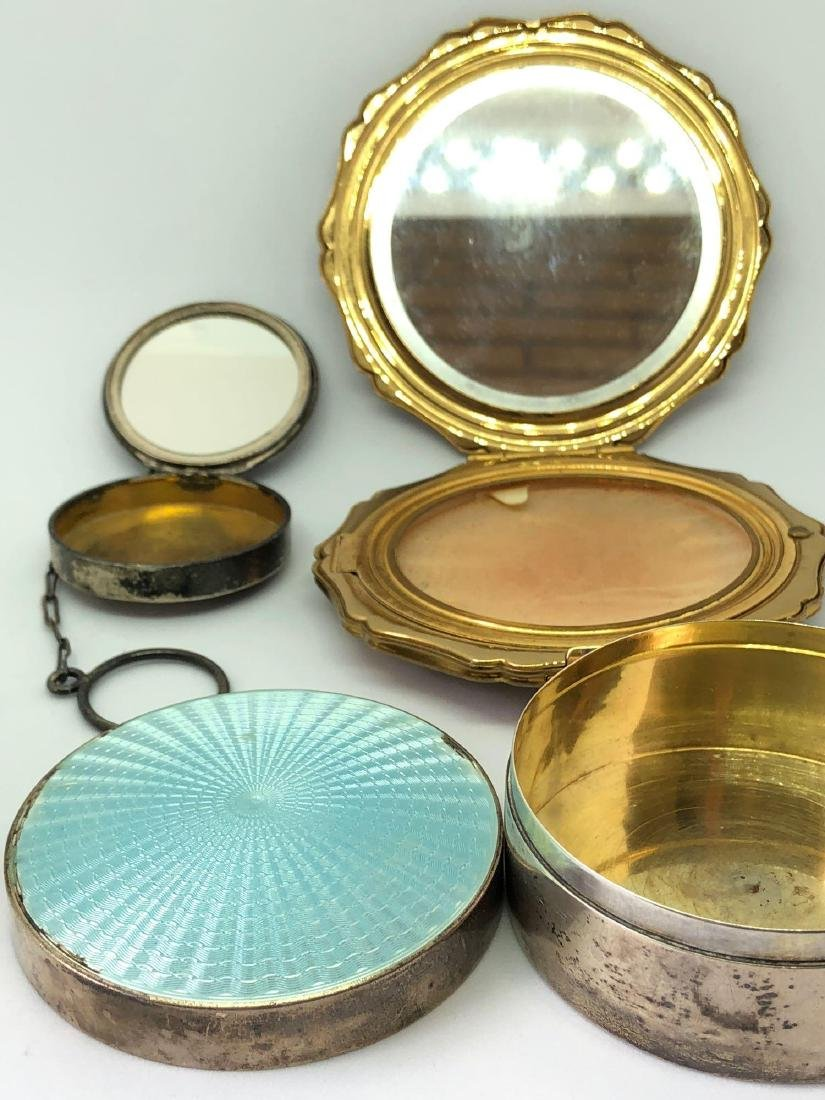 Lot of Three Vintage and Antique Compacts - 2