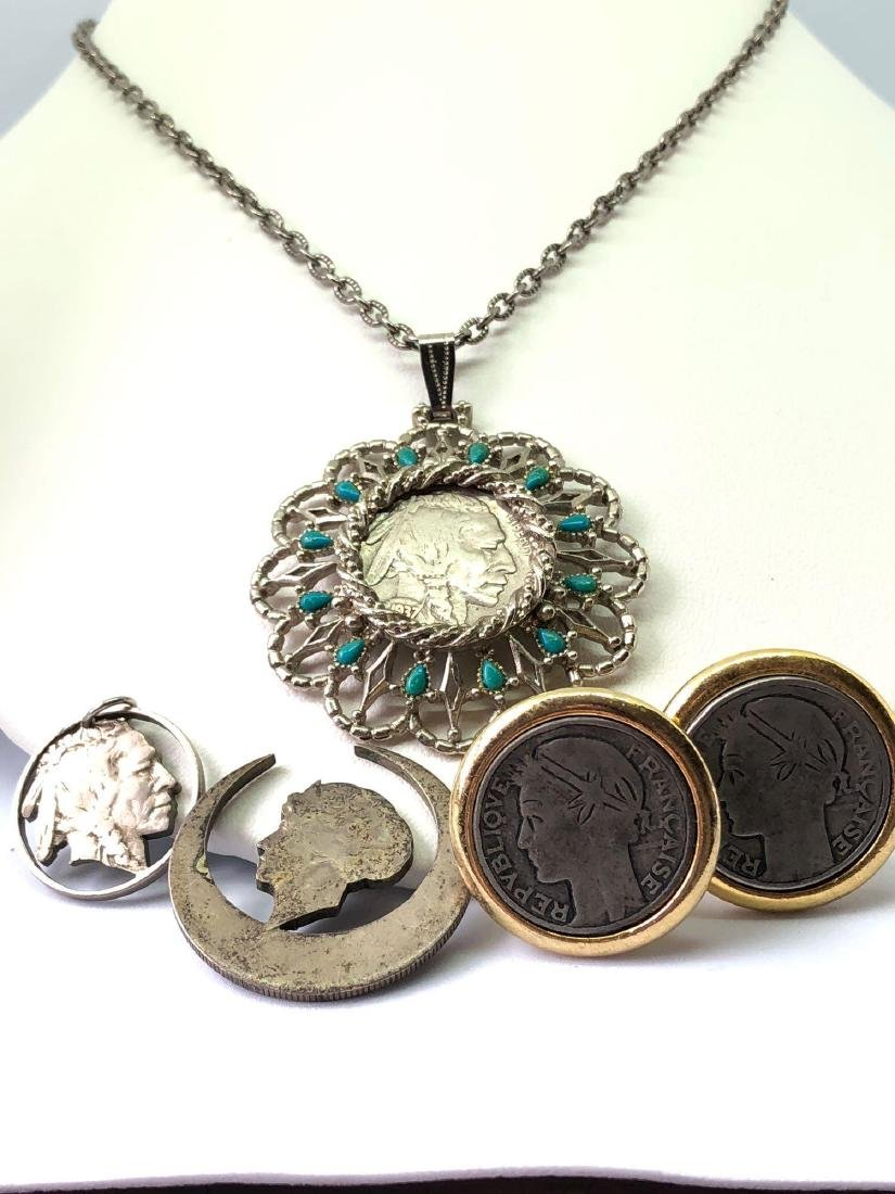 Lot of Coin Jewelry