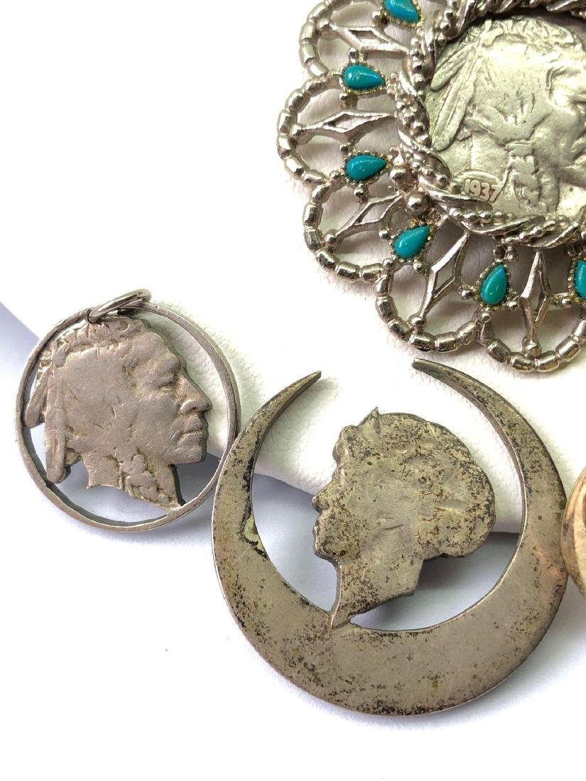 Lot of Coin Jewelry - 3
