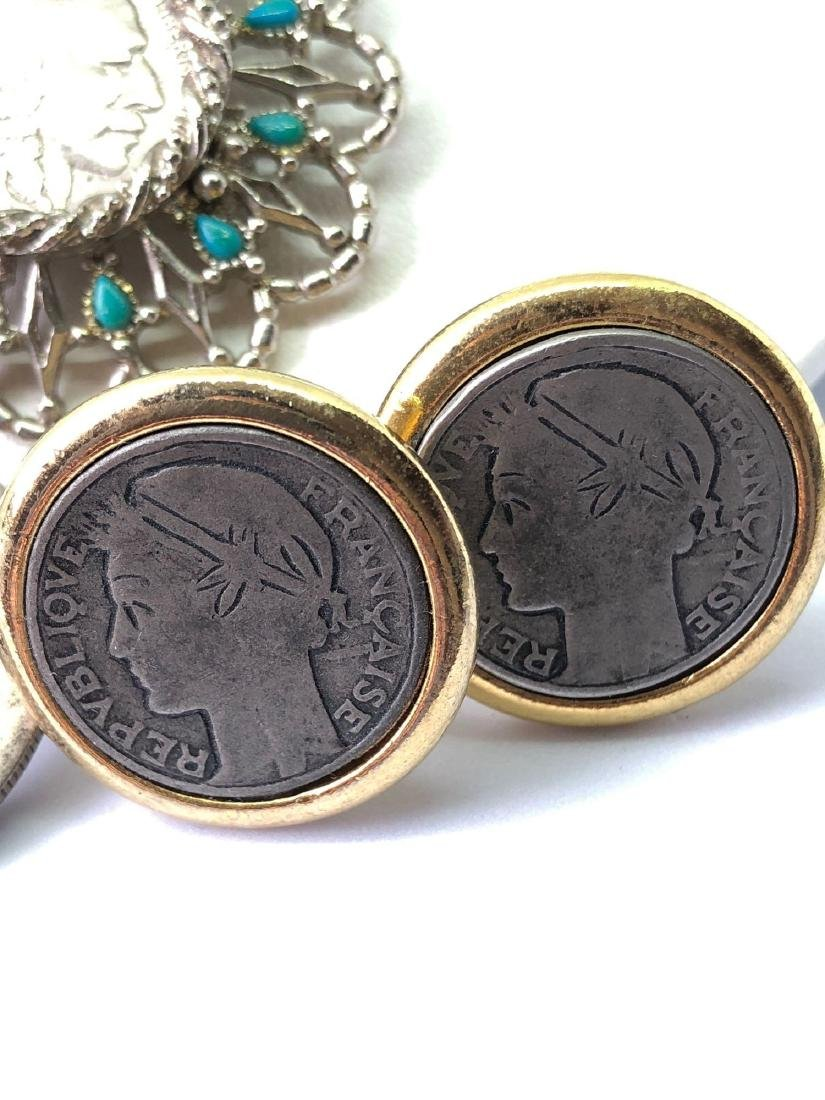 Lot of Coin Jewelry - 4