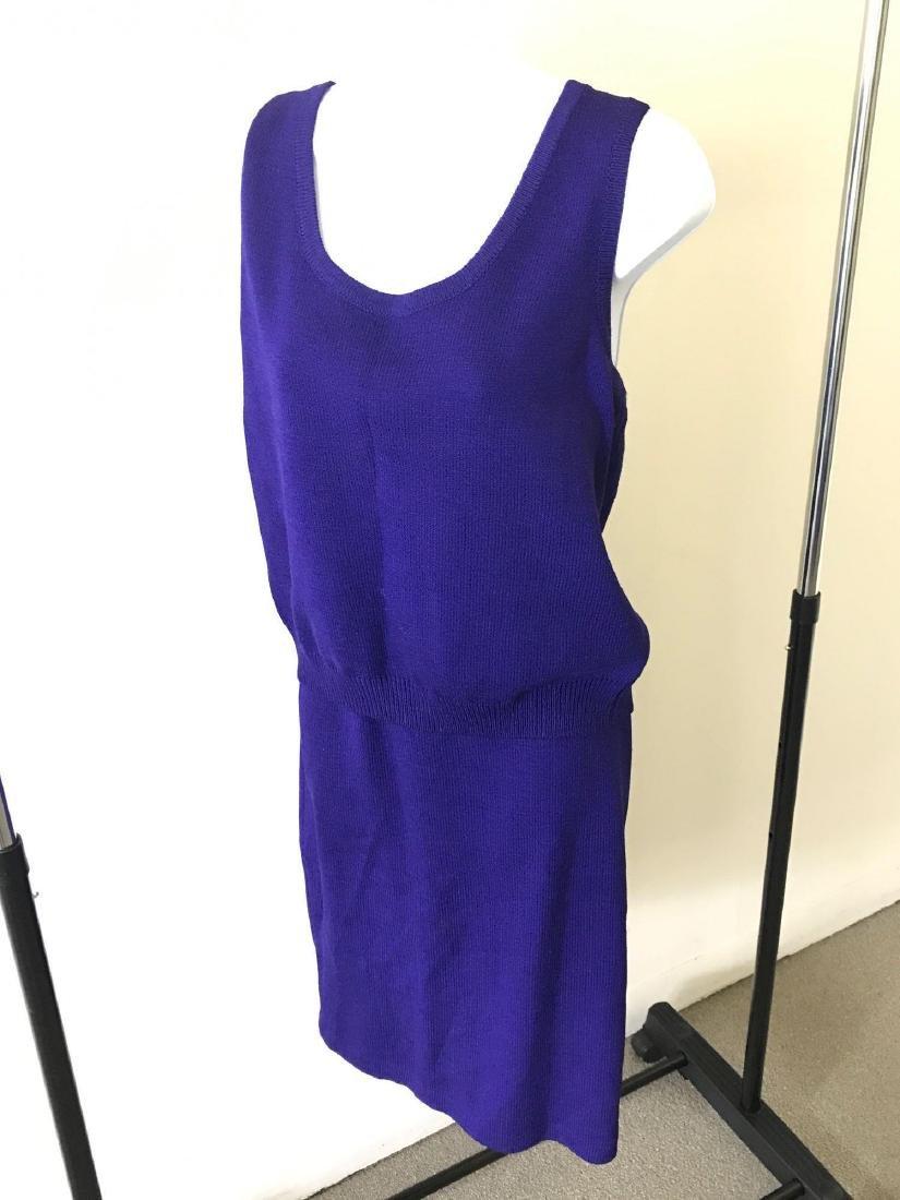 St. John Collection Knit Tank and Skirt Coordinate Set