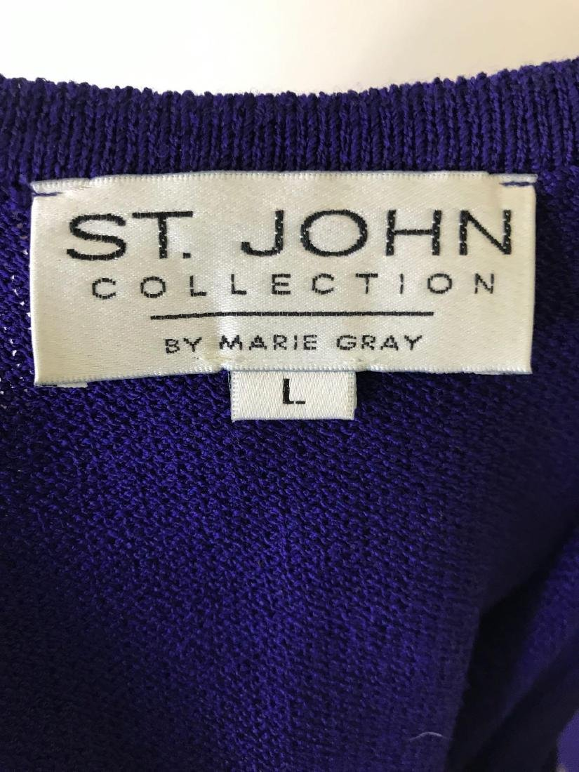 St. John Collection Knit Tank and Skirt Coordinate Set - 7