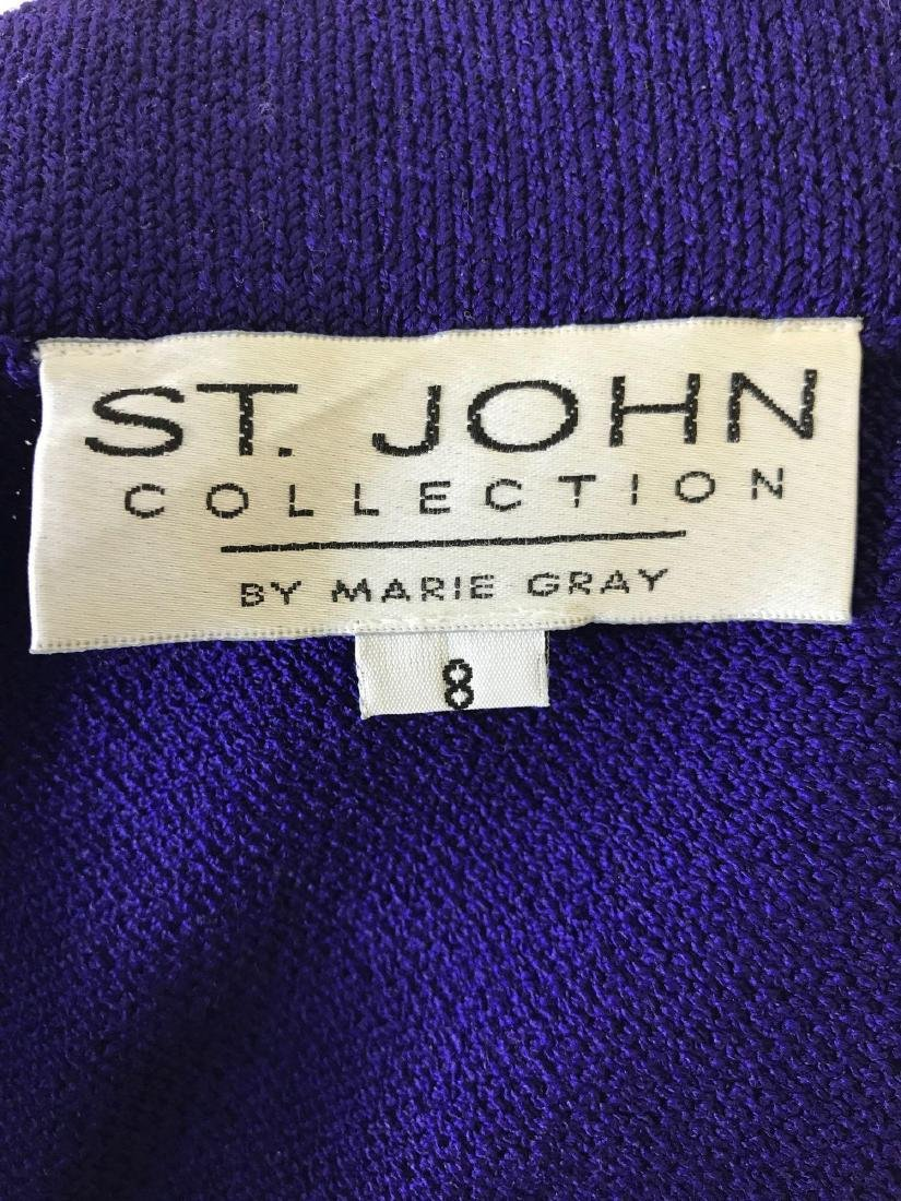 St. John Collection Knit Tank and Skirt Coordinate Set - 8