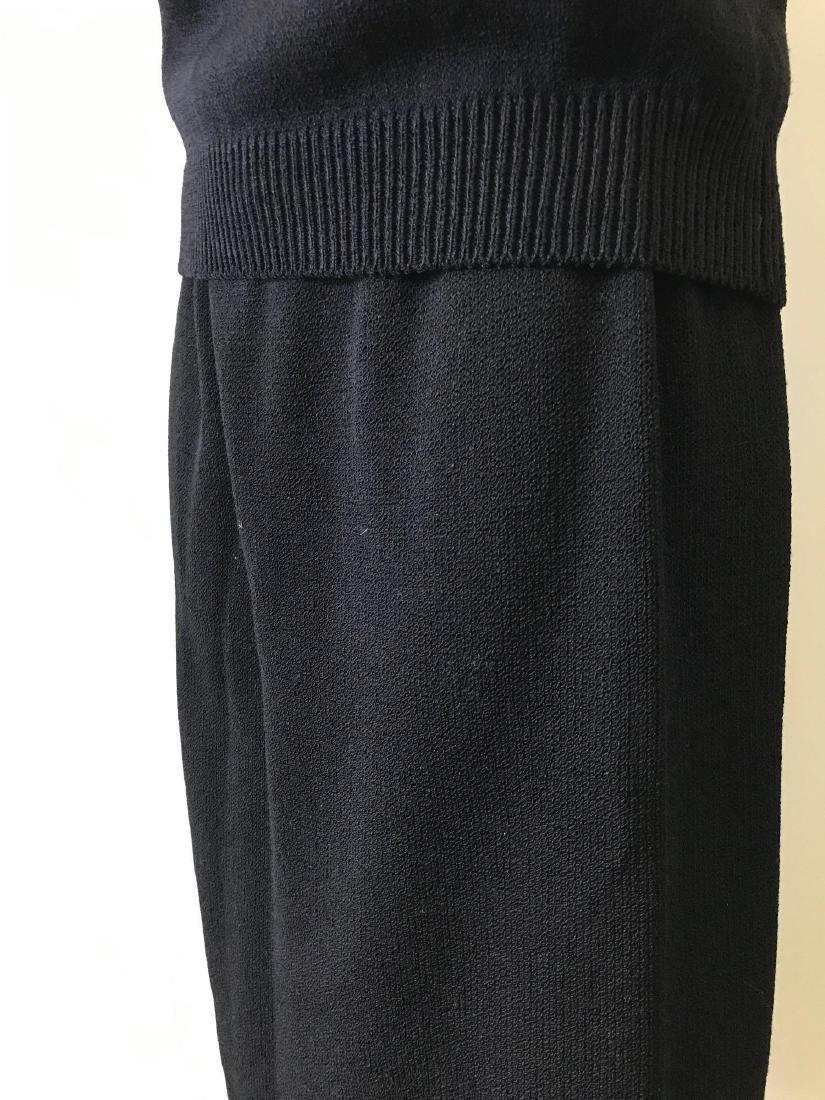 St. John Basics Knit Tank and Skirt Coordinate Set