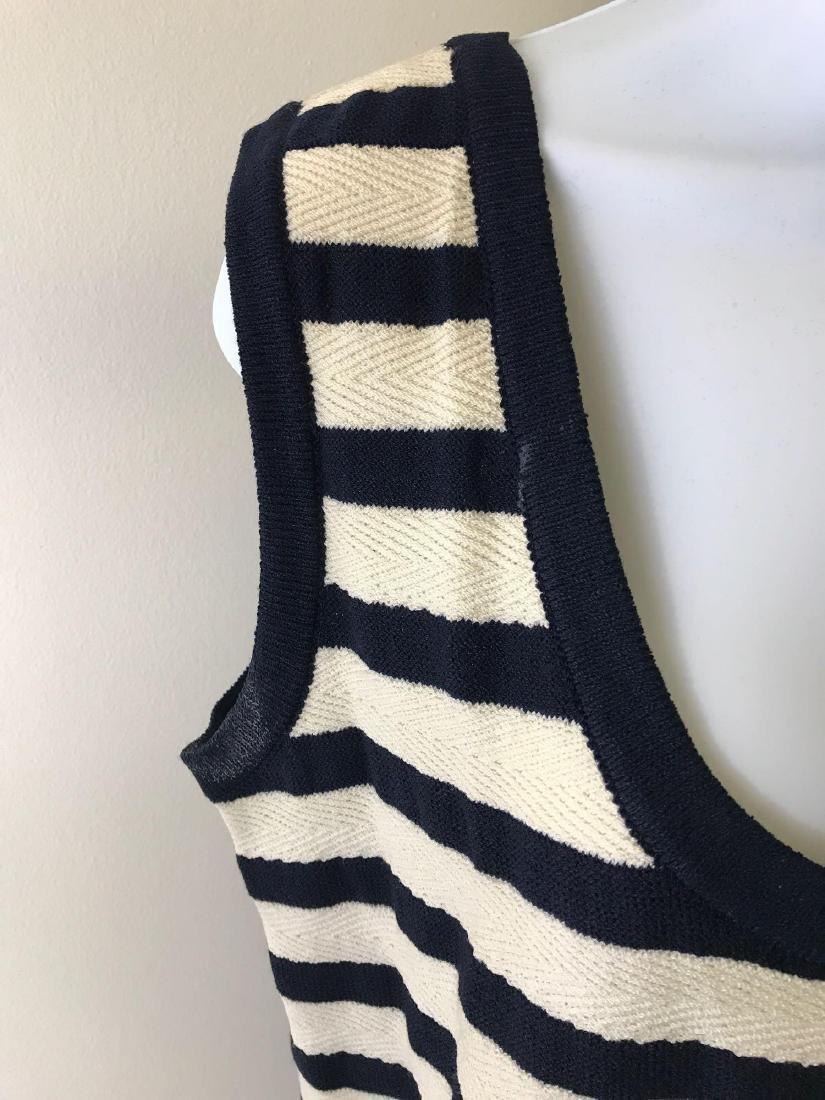 St. John Collection Knit Striped Tank - 2