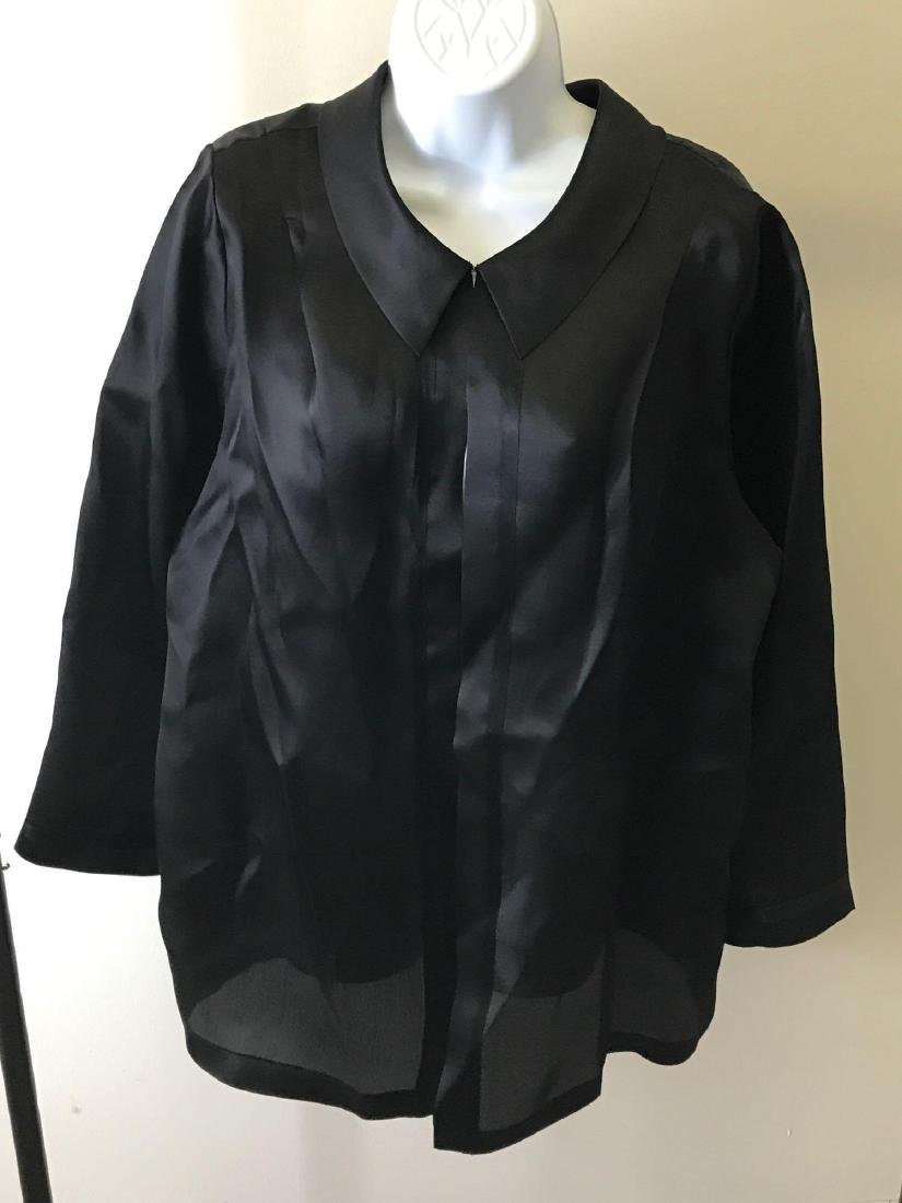 Carmen Marc Valvo Woman Silk Blouse
