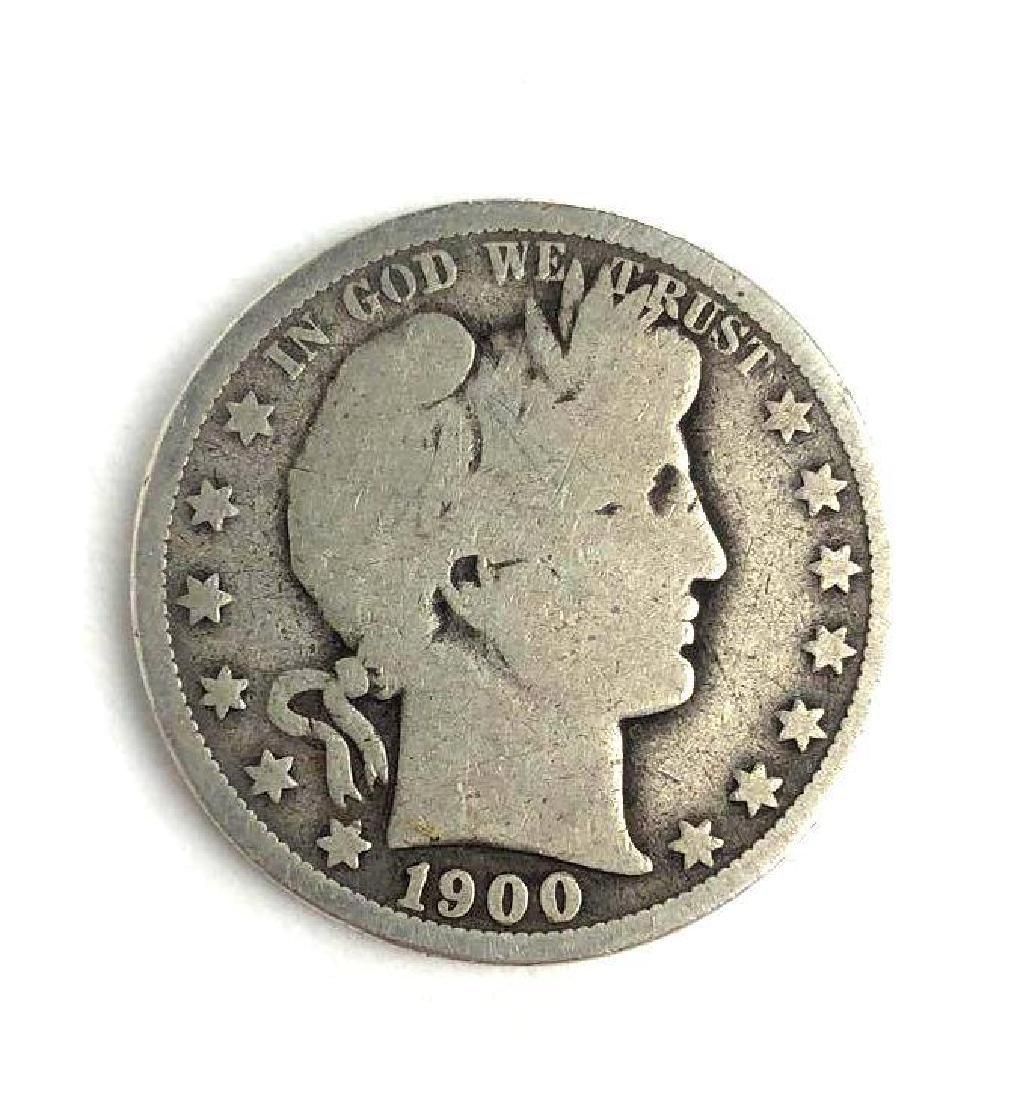 1900 Barber Half Dollar