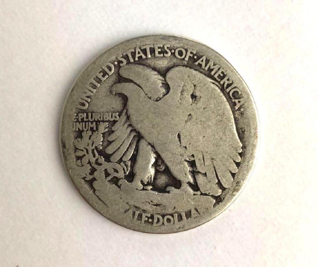 1917 Walking Liberty Half Dollar