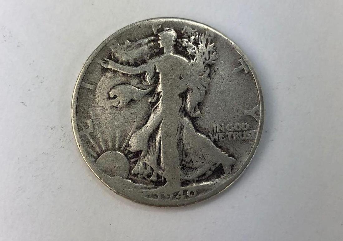 Lot of One 1940 Walking Liberty Half Dollar
