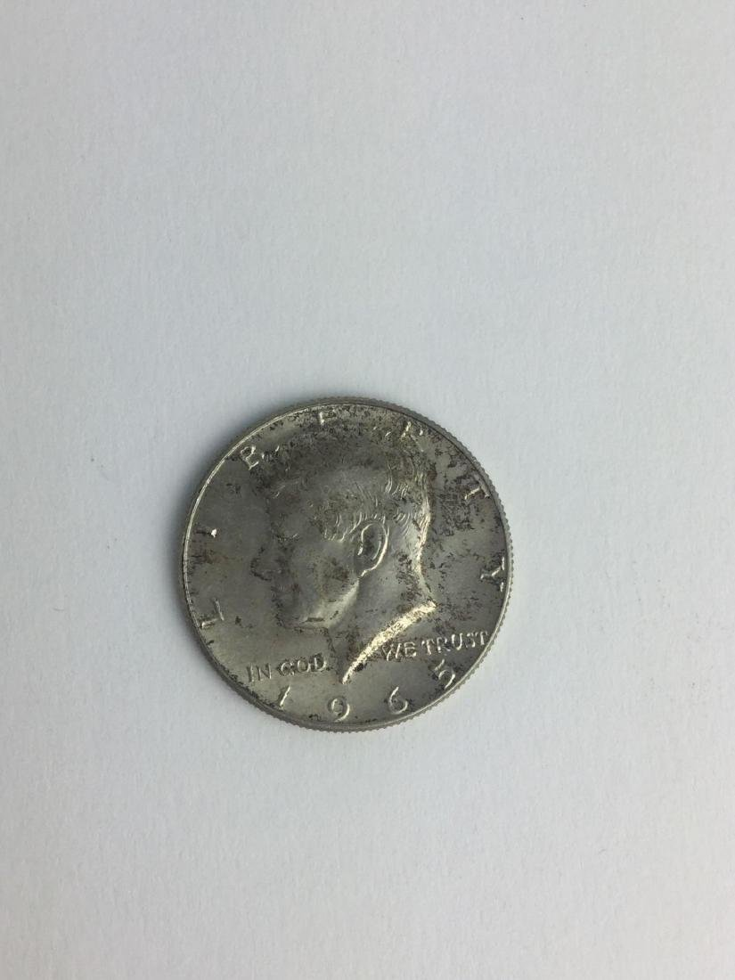 Lot of One 1965 Kennedy Half Dollar
