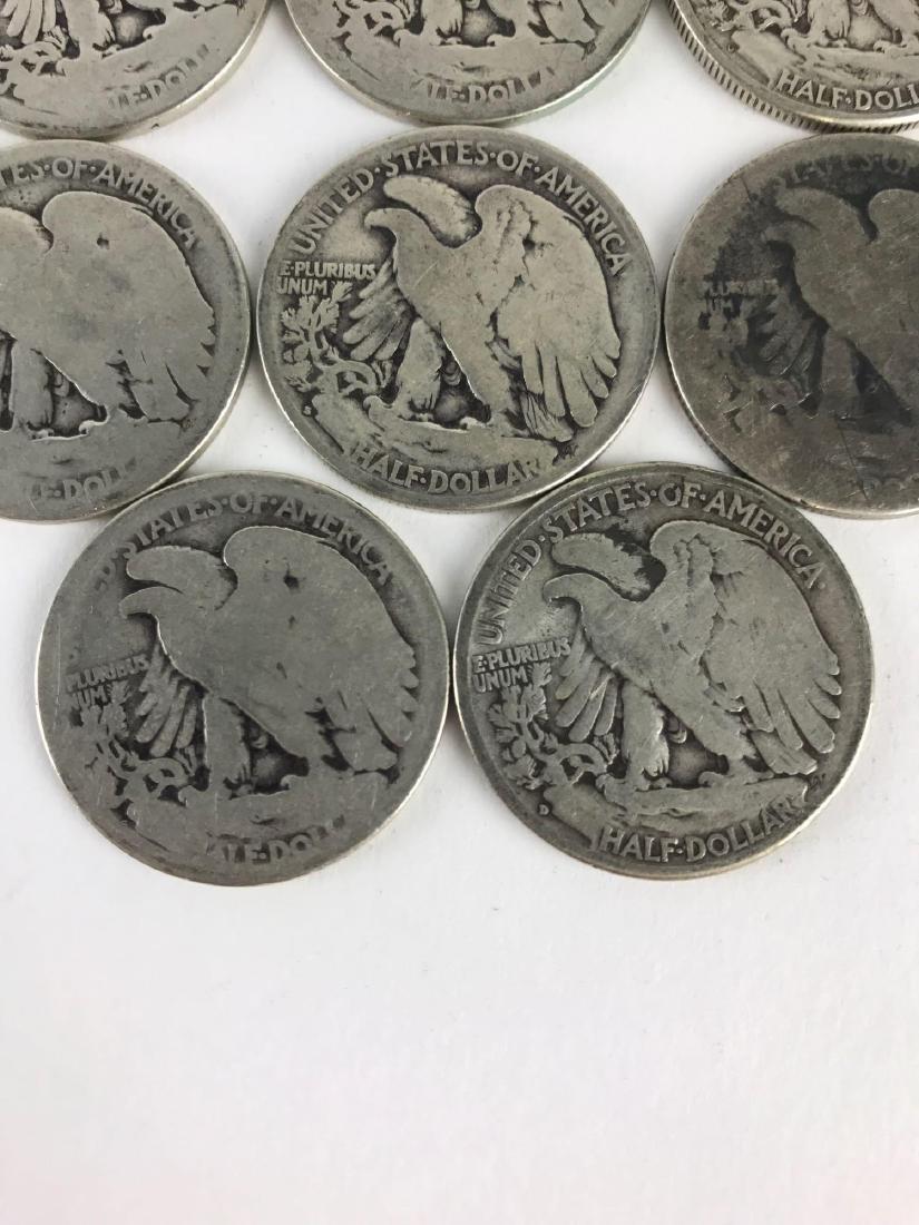 Lot Of 22 Walking Liberty Half Dollar Coins - 6