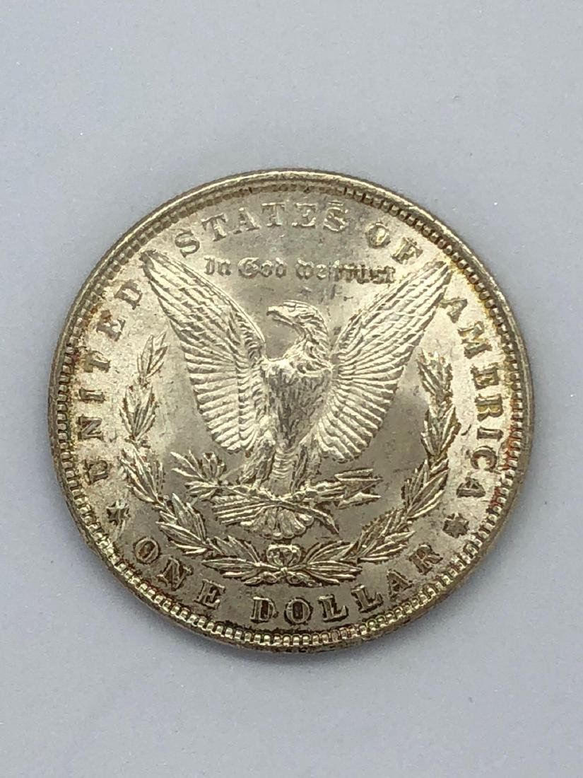 Lot Of One 1889 Morgan Silver Dollar Coins P-Mint - 2