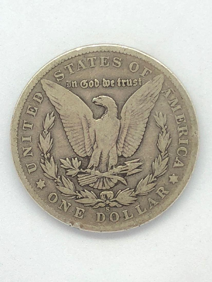 Lot Of One 1904 Morgan Silver Dollar Coin S-Mint - 2
