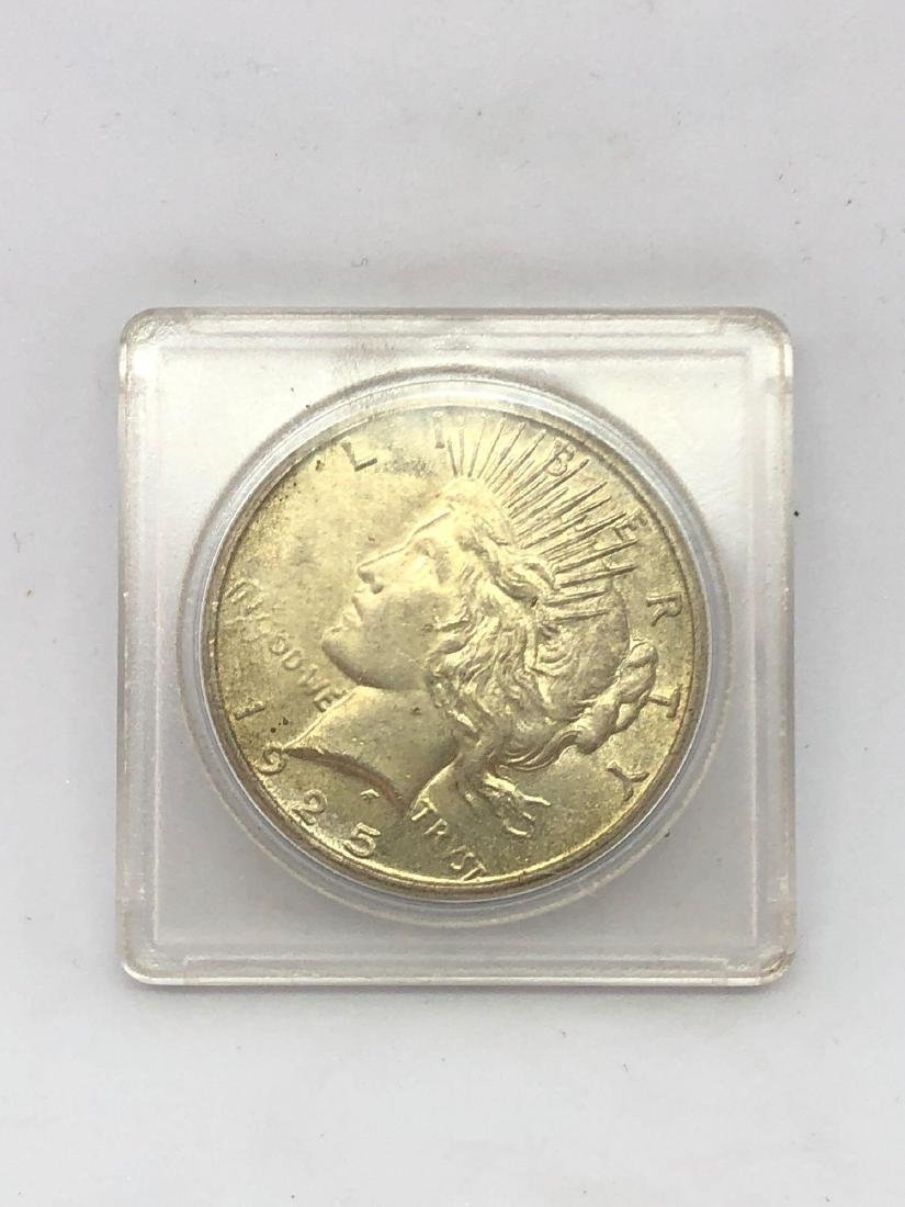Lot of One 1925 Liberty Peace Silver Dollar
