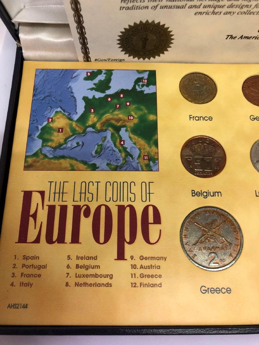 A Last Coins of Europe Set of 12 Coins - 3
