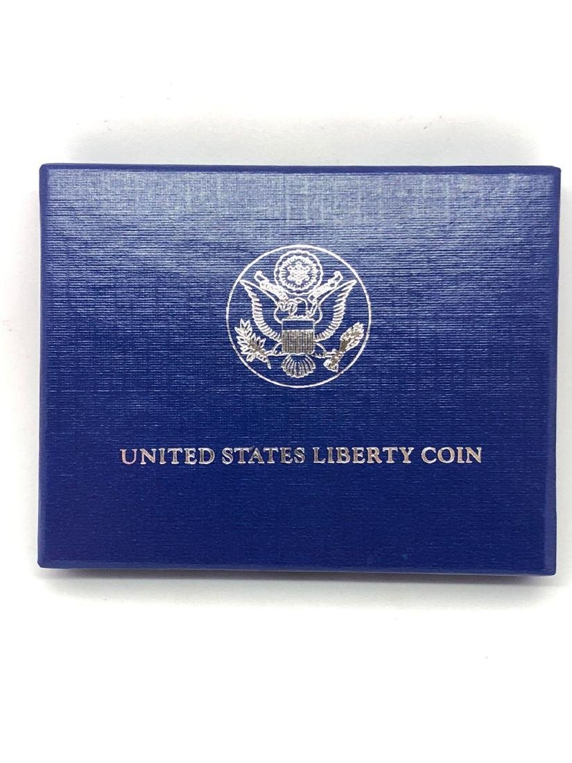 One 1986 Liberty Half Dollar Proof
