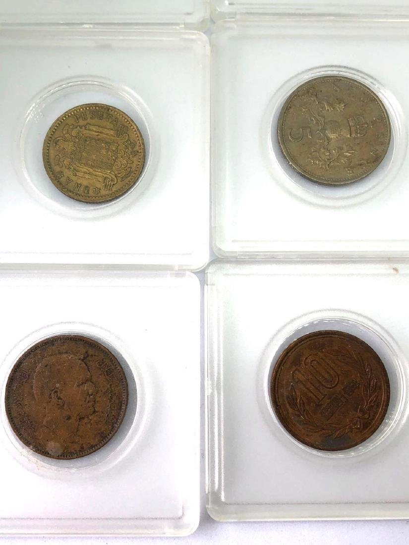 Lot of Nine Vintage Foreign Coins - 3