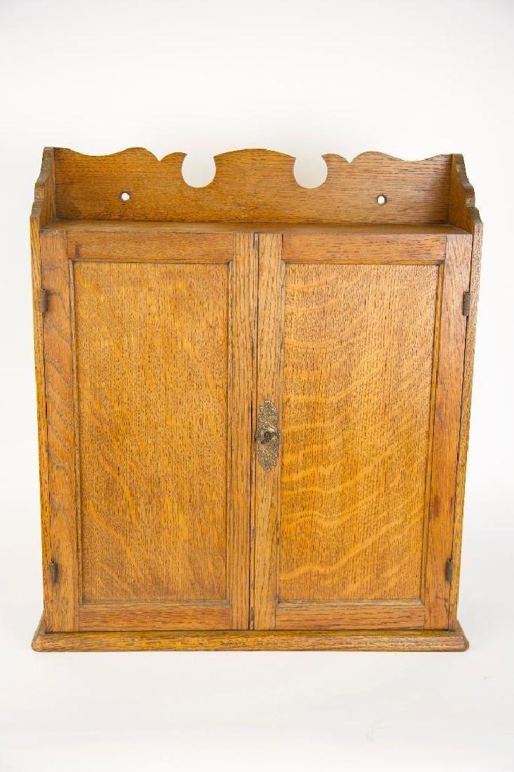 Antique Hanging Medicine/Condiments Cabinet