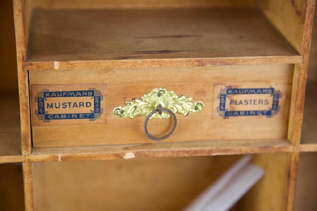 Antique Hanging Medicine/Condiments Cabinet - 4