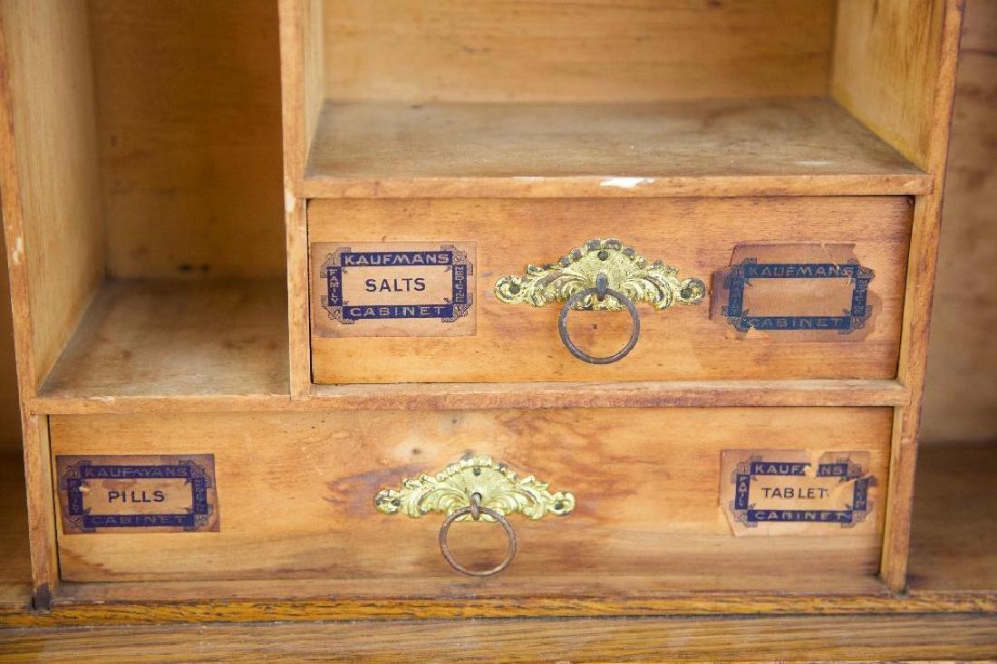 Antique Hanging Medicine/Condiments Cabinet - 5