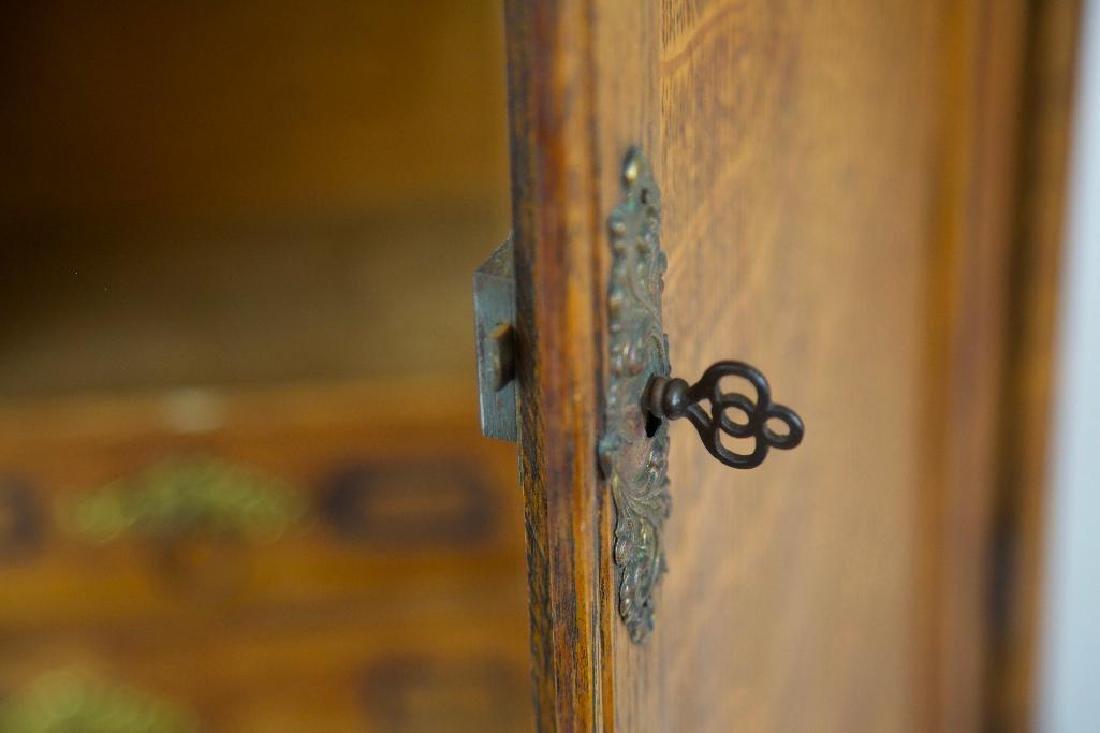 Antique Hanging Medicine/Condiments Cabinet - 7
