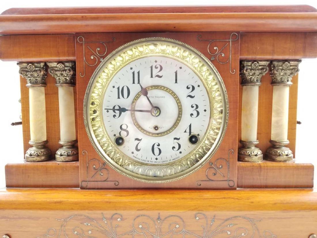 Antique Seth Thomas Mantle Clock 1904 - 3