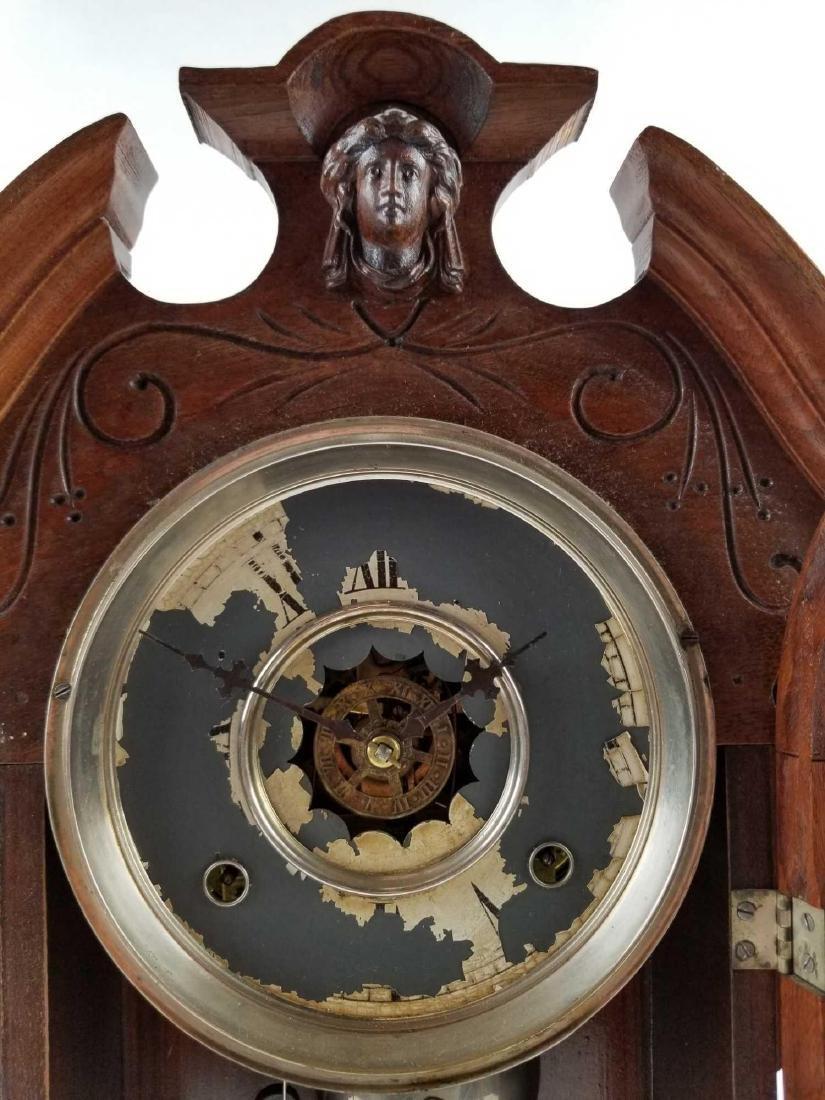 Antique Waterbury Clock Company Mantle Shelf Clock - 3